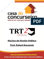 REV Apostila TRT.sp NocoesDeGestaoPublica Ravazolo