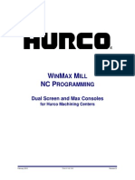 Mill NC Programming WinMax