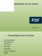 Leyes y Propiedades de Los Gases Octavo Basico
