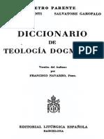 PARENTE - Diccionario de Teologia Dogmatica