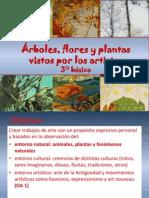 Arboles, Plantas y Flores, 3basico