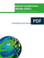 Conference Proceeding International Conference on Media Ethics