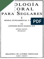 Royo Marin, A  Teologia Moral Seglares 1