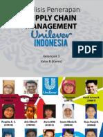 Penerapan Supply Chain Management UNILEVER INDONESIA