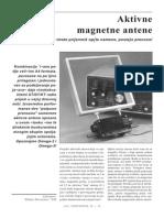 Aktivna magnetska antena 150 kHz - 30 MHz