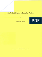 On Probability as a Basis