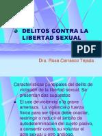 Delitos Libertad Sexual