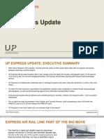 UP Express Update