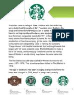 Starbucks History