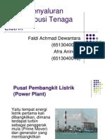 sistem penyaluran dan distribusi tenaga listrik ppt