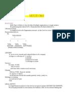 MultiOrg Info
