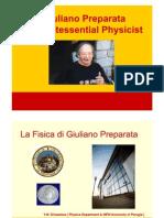 Giuliano Preparata by Srivastava