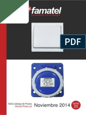 FAMATEL 3208 Caja preinstalacion aire acondicionado