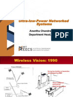 Ultra-Low-Power Networked Systems - Anantha Chandrakasan