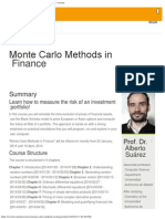 Monte Carlo Methods Course _ Education. Online. Free. _ Iversity