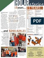 Fall 2014 NSP Scholar Stories