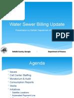 DeKalb County Water Billing Presentation