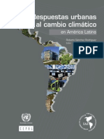 Respuestas Urbanas Al Cambio Climatico
