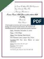 ism invitation