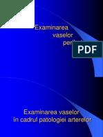 08. Examinarea Vaselor Periferice