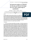 Statistical and Regression Analysis of Material Removal Rate for Wire Cut Electro Discharge Machining of Ss 304L Using Design of Experiments