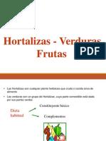 Hortalizas Verduras frutas
