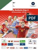 Daily Bulletin - EHF Euro 2014