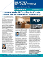 Donors Make It Possible to Create a New ED to Serve the Community