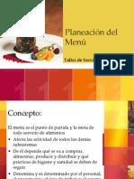 PLANIFICACION de UN MENÚ Elaboracion III de Bachillerato