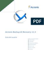 ABR11.5A Userguide Es-ES