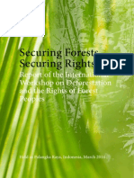Securing Forests, Securing Rights