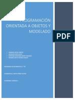 Programación orientada a objetos y modelado