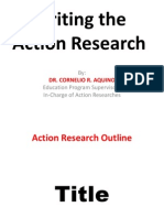 Writing the Action Research