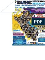 Curso Superintensivo de Clínicas, Salud Pública y Examenes Comentados. Residentado Médico 2015