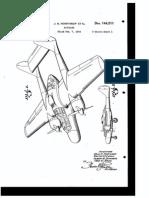 Northrop P-61 Black Widow Patent