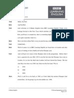 6min English Hopes for 2012