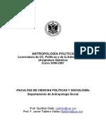 Silabus Seguir Antropologia Politica Peru