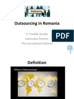 Presentation Outsourcing of business processes in Romania dec 2014