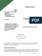 Avis du Conseil d'Etat/Projet de loi Macron