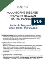 Mikrobiologi Pangan - BAB 13 - Food Borne Disease