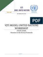 VJMUN Winter Workshop Study Guide