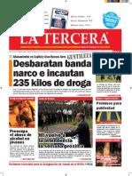 Diario La Tercera 10.12.2014