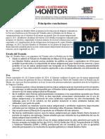 Principales Conclusiones Del Monitor de Minas Terrestres 2014
