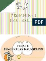 KEMAHIRAN KAUNSELING
