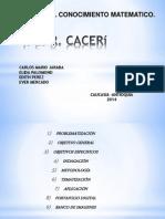 PRESENTACION CACERI