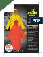 Abrigo de Pvc Triton - Poncho