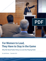 For Women to Lead, They Have to Stay in the Game