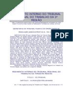 Regimento Interno TRT3