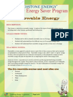Renewable Energy Lesson Plan