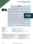 Peter Aniediabasi John - Resume 2010 - Environmental Expert
